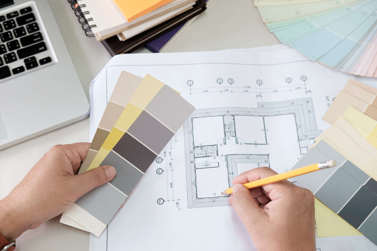 Mezza Design sisustussuunnittelu, kuinka valitsen värit kotiin